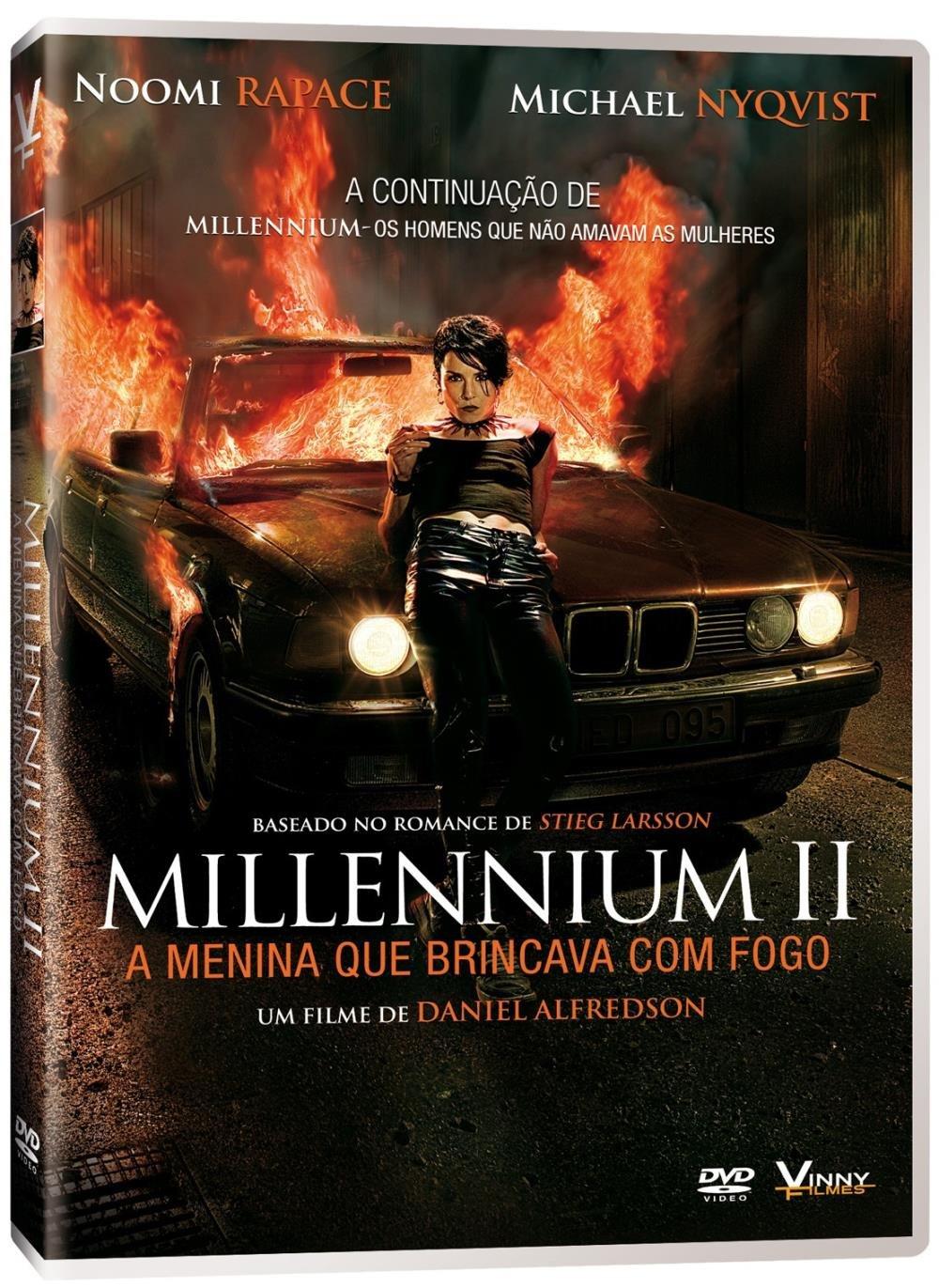 Millennium Ii A Menina Que Brincava Com Fogo Dvd Saraiva