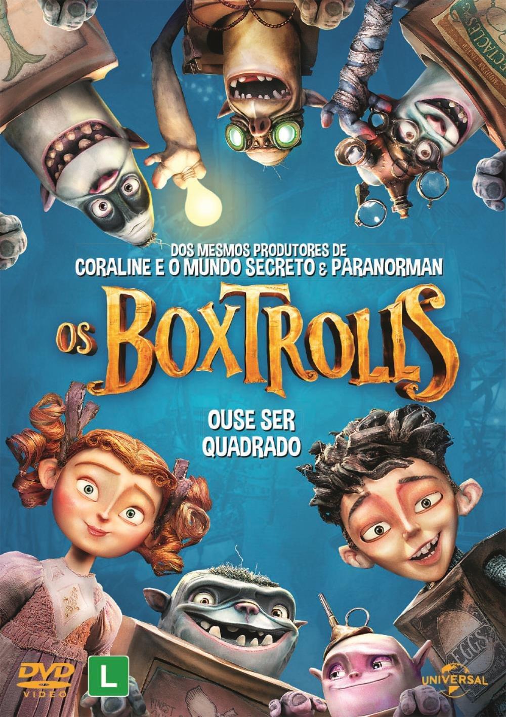 Os Boxtrolls - DVD - Saraiva