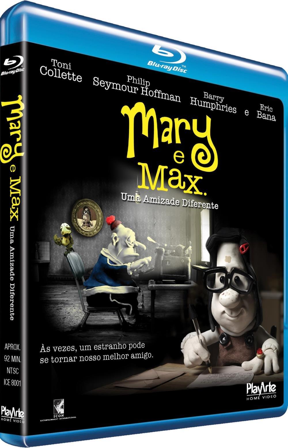 Mary E Max Uma Amizade Diferente Blu Ray Saraiva