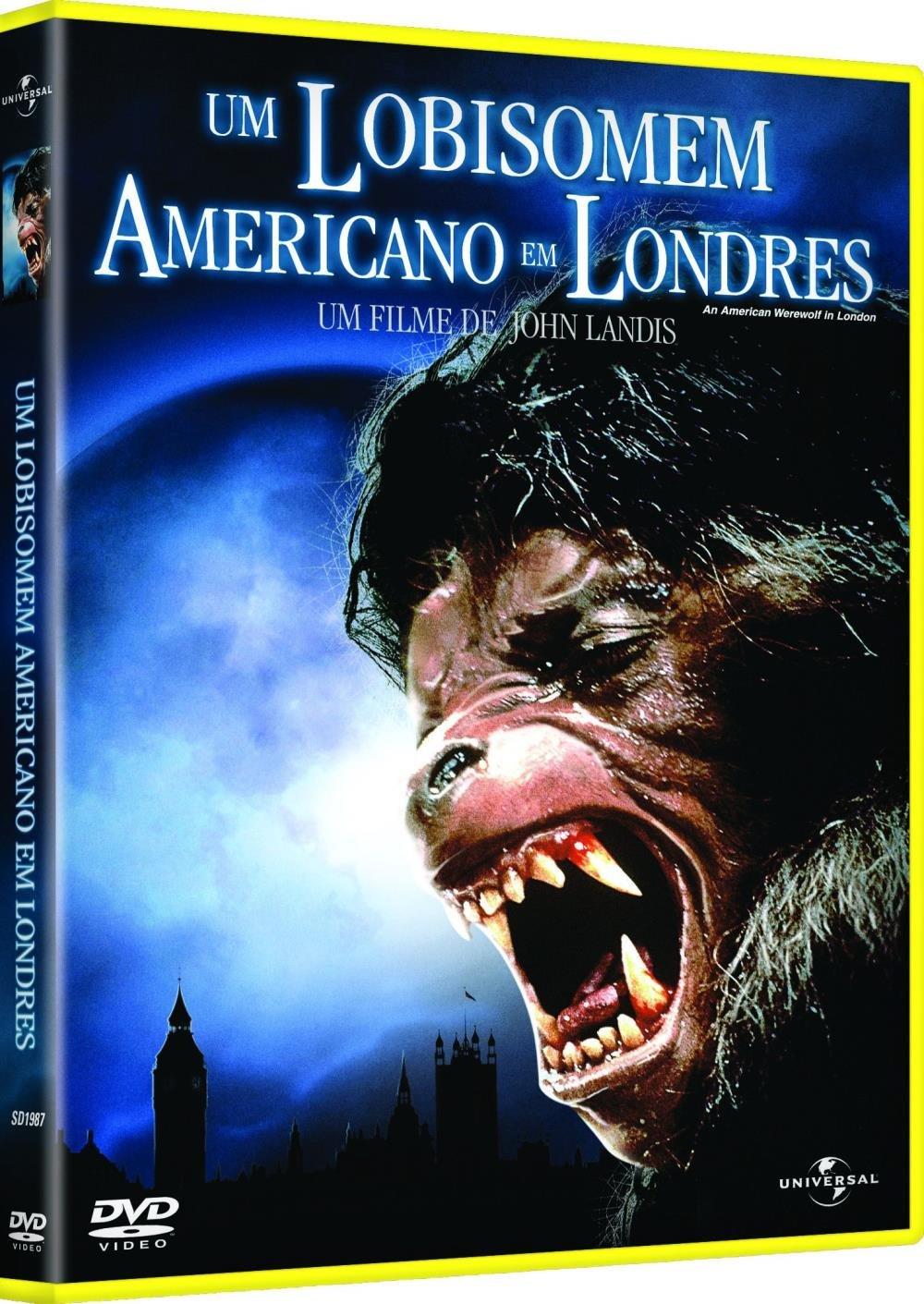 Um Lobisomem Americano Em Londres Dvd Saraiva