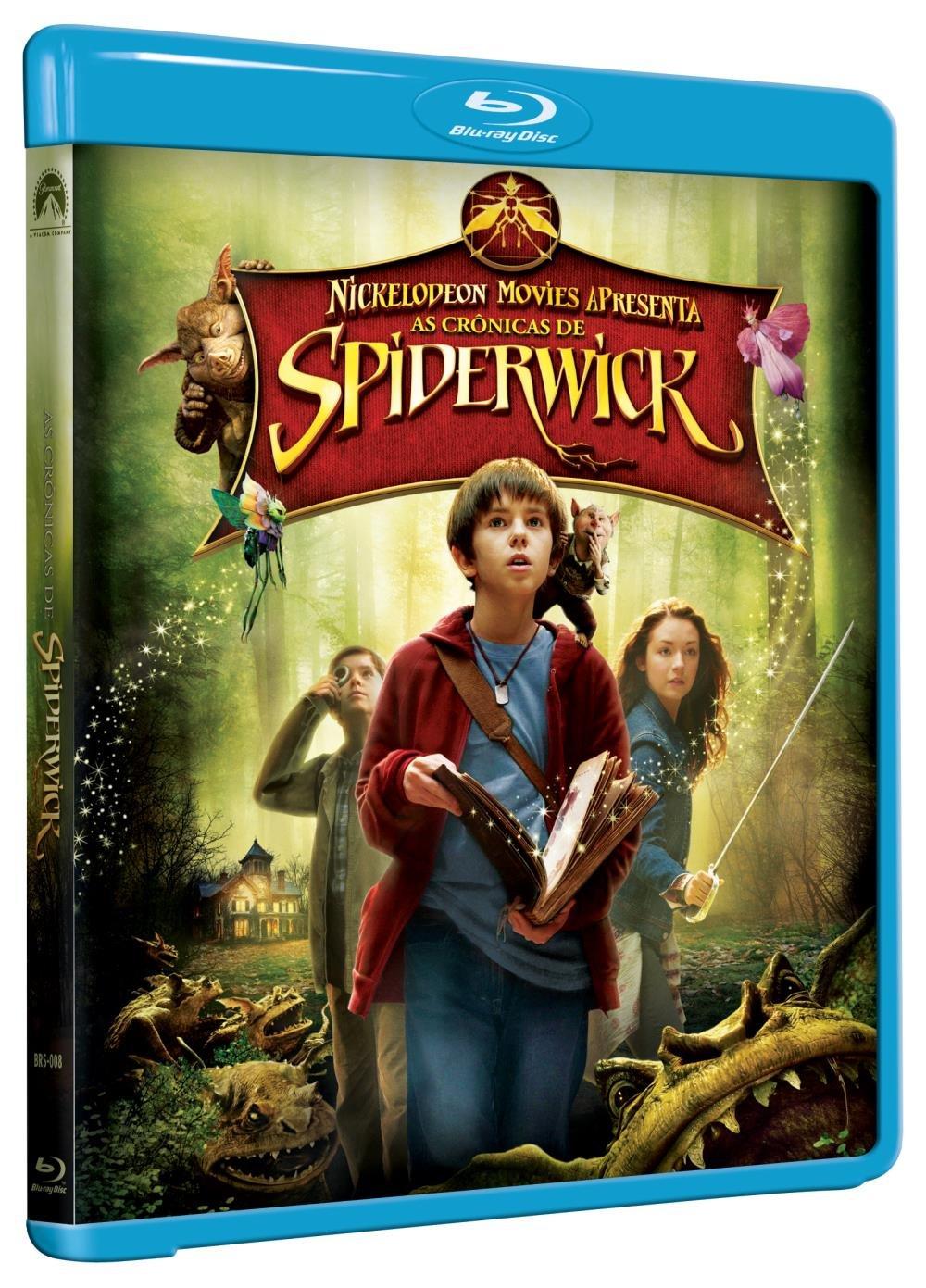 As Cronicas De Spiderwick Blu Ray Saraiva