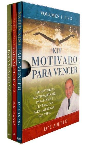 Kit Motivado Para Vencer Vol 1 2 E 3 Saraiva