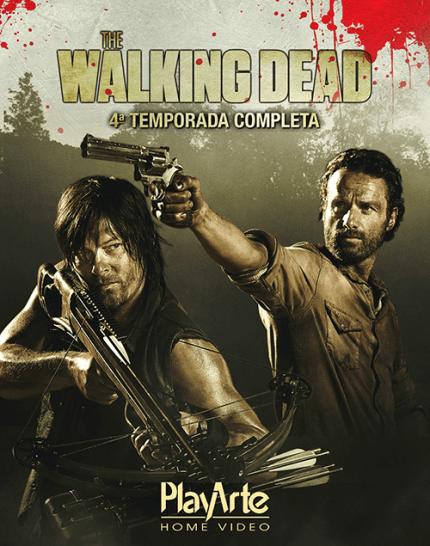 Blu-Ray The Walking Dead - 4ª Temporada - 4 Discos