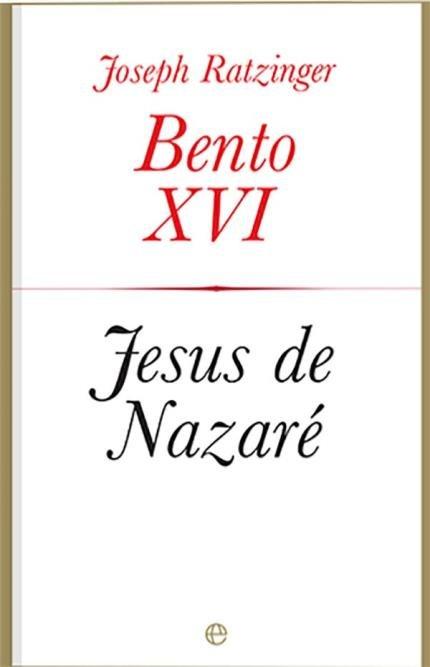 Resultado de imagem para bento xvi jesus de nazare