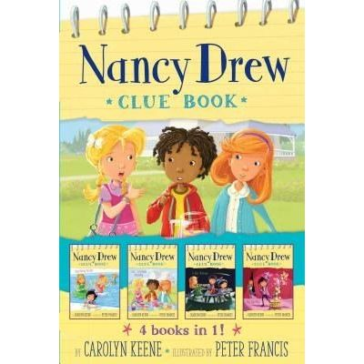 Nancy Drew Clue Book 4 Books In 1! - Pool Party Puzzler; Last Lemonade Standing; A Star Witness; Big Top Flop