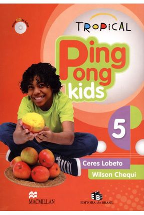 Usado - Tropical Ping Pong Kids 5 - Students Pack With Audio CD - Chequi,Wilson Lobeto,Ceres | Tagrny.org