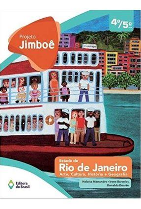 Usado - Projeto Jimboe Estado do Rj - Arte, Cultura, Historia e Geografia - Vol. Único - 4º e 5º Ano -  pdf epub