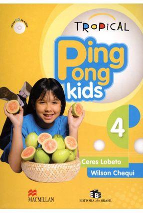 Usado - Tropical Ping Pong Kids 4 - Students Pack With Audio CD -  pdf epub