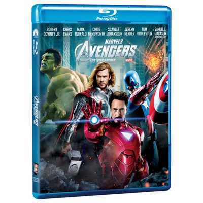 The Avengers - Os Vingadores - Blu-Ray