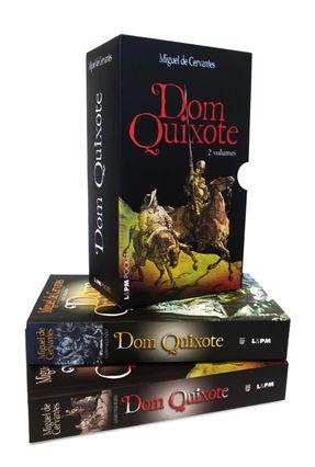 Caixa Especial Dom Quixote - 2 Volumes - Cervantes,Miguel de | Hoshan.org