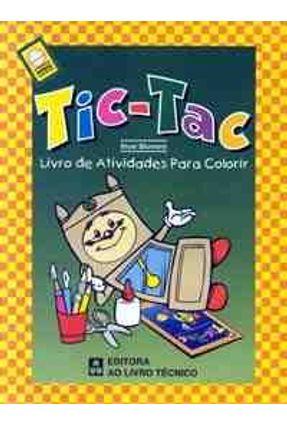 Tic-Tac - Livro de Atividades P/ Colorir Medi -  pdf epub
