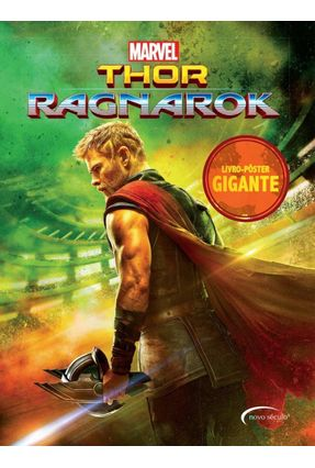 Thor Ragnarok - Livro-pôster Gigante - Donófrio,Vitor | Tagrny.org