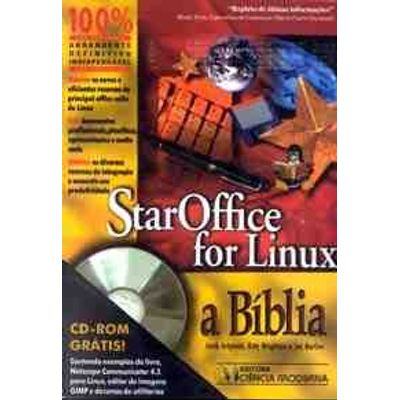 Star Office For Linux a Biblia Cd-rom