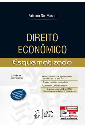 Direito Econômico - Esquematizado - 2ª Ed. 2013 - Masso,Fabiano Del pdf epub