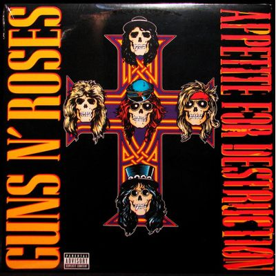 Guns N' Roses - Appetite For Destruction - Importado - LP