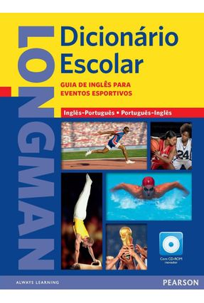 Longman Dicionário Escolar - Sports Edition Com CD-ROM - Editora Pearson Editora Pearson pdf epub