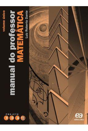 Projeto Voaz - Matemática - Ensino Médio - Com 3 Volumes - Dante, Luiz Roberto   Tagrny.org