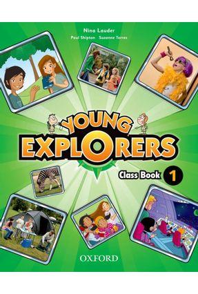 Young Explorers - Level 1 - Class Book - Editora Oxford   Hoshan.org