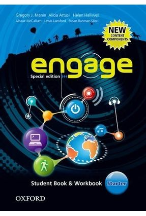 Engage Starter - Special Edition - Student Book + Workbook - Artusi,Alicia Manin,Gregory J. | Tagrny.org