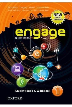 Engage 1 - Special Edition - Student Book & Workbook - Manin,Gregory J. Artusi,Alicia pdf epub