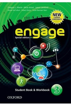 Engage 3 - Special Edition - Student Book & Workbook - Manin,Gregory J. Artusi,Alicia   Hoshan.org
