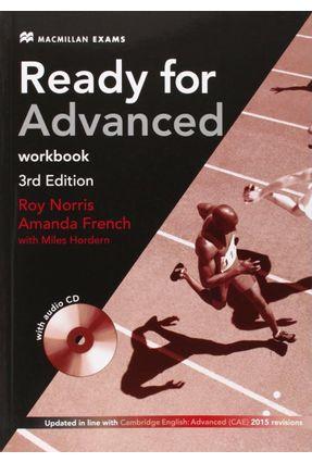 Ready For Advanced - Workbook - Macmillan Exams -3Rd Edition - Editora Macmillan   Nisrs.org