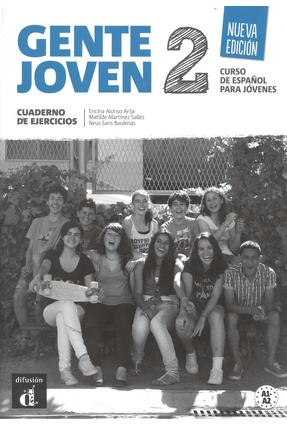 Gente Joven 2 - Nueva Edición - Cuaderno De Ejercicios - (Nivel A1-A2) - ALONSO,ENCINA ALONSO,ENCINA | Hoshan.org