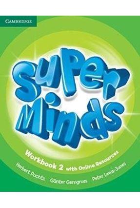 Super Minds British 2 - Workbook With Online Resources - Herbert Puchta pdf epub