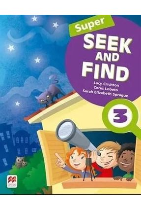 Super Seek And Find Student's Book & Digital Pack-3