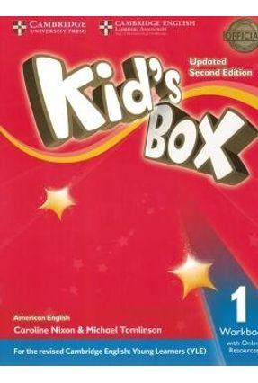 Kids Box American English 1 Wb With Online Resources - Updated 2Nd Ed - Nixon,Cariline pdf epub