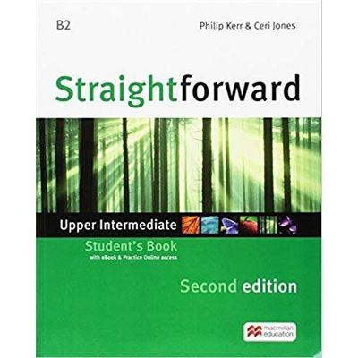 Straightforward 2nd Edition Upper Intermediate + Ebook Student's Pack