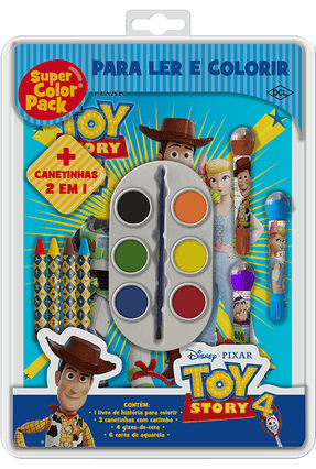 Disney - Super Color Pack - Toy Story 4 - Disney-Pixar | Tagrny.org