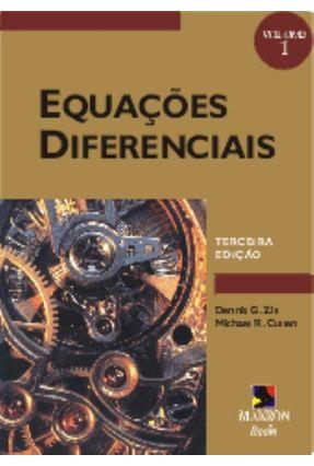 Equações Diferenciais Vol. 1 - Zill,Dennis G.   Hoshan.org