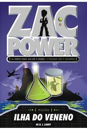 Zac Power 1 - Ilha do Veneno - Larry,de H. I. | Hoshan.org