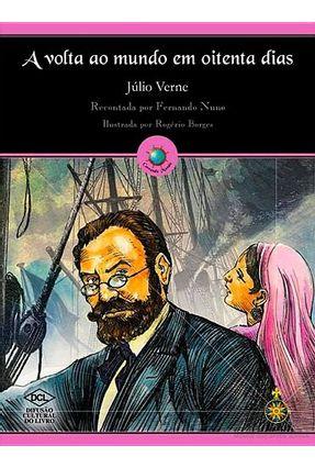 A Volta ao Mundo Em Oitenta Dias - Col. Correndo Mundo - Verne,Jules   Nisrs.org