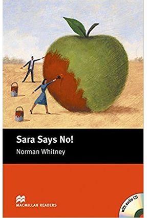 Sara Says No! - Audio CD Included - Macmillan Readers - Macmillan Macmillan pdf epub