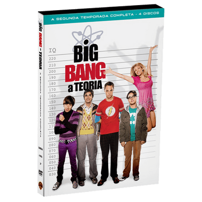 DVD Big Bang: A Teoria - 2ª Temporada - 4 Discos