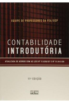 Contabilidade Introdutória - Livro Texto - 11ª Ed. 2010 - Iudícibus,Sérgio de Martins,Eliseu Kanitz,Stephen Charles pdf epub