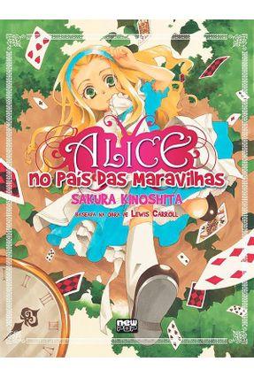 Alice no País das Maravilhas - em mangá - Kinoshita,Sakura (ilt)   Nisrs.org