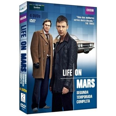 DVD Life On Mars - 2ª Temporada - 4 Discos