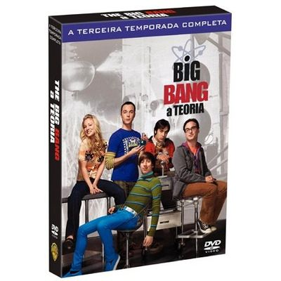 DVD Big Bang: A Teoria - 3ª Temporada - 3 Discos