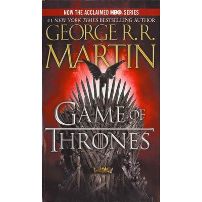 Game Of Thrones Hbo Tie-In - A Song Of Ice And Fire 1