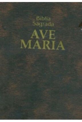Bíblia Sagrada Ave Maria - Zíper - Edição de Bolso - Castro,Joao Jose Pedreira de pdf epub