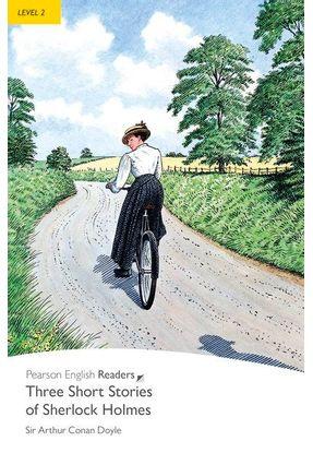 Three Short Stories Of Sherlock Holmes - Pr2+Mp3 - Penguin Readers - Doyle,Arthur Conan | Hoshan.org