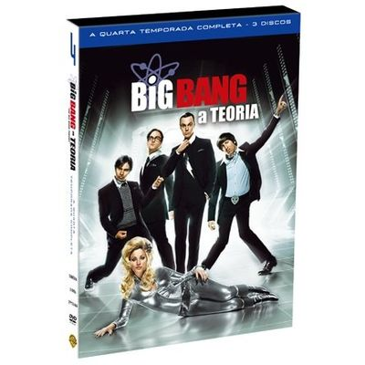 DVD Big Bang: A Teoria - 4ª Temporada - 3 Discos