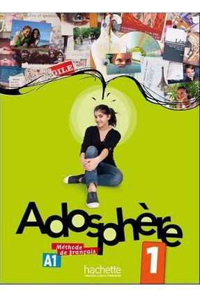 Adosphère - Niveau 1 - Livre de l'élève + CD audio - Himber,Celine pdf epub