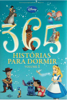 365 Histórias Para Dormir - Vol. 1 - Disney   Hoshan.org