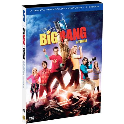 DVD Big Bang: A Teoria - 5ª Temporada - 3 Discos