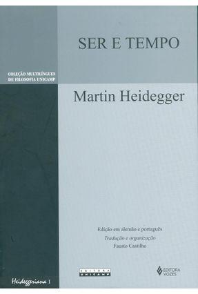 Ser e Tempo - Col. Multilíngues de Filosofia Unicamp - Heidegger,Martin pdf epub