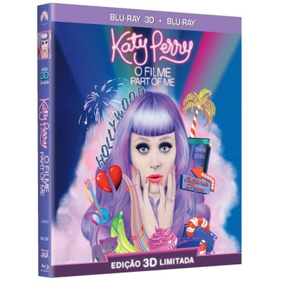 Katy Perry - o Filme - Part Of Me - Blu-Ray 3D + Blu-Ray